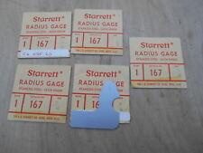 Starrett 38 Radius Gage Price Is For 1