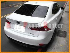 2014-2015 LEXUS IS250 IS350 Sedan TRD Look Trunk Boot Spoiler - #083 White Nova