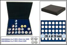 Safe 63290 nova de Luxe Tirelire Noir 35x 29,5mm Pour 5 DM Mark Le DDR