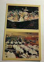 Vintage Postcard Wivel Restaurant New York City Q3