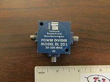 TRM Power Divider Model DL-203 For 20-200MHz SMA