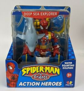 2005 Toy Biz Marvel Spiderman & Friends Deep Sea Explorer Spider-man Figure