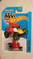 Hotwheels 2013 HW City Angry Birds Red