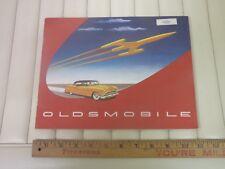 1954 OLDSMOBILE - Original Color Dealer Sales Catalog - Brochure - (US)