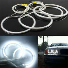 4x LED Car Angel Eyes Lights CCFL Halo Ring Lamp White For BMW E36 E38 E39 E46