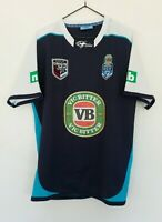 Classic Size L State Of Origin NSW Blues VB Logo 2008 Licensed