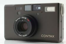 [Mint] Contax T3 Black Point & Shoot 35mm Film Camera 35mm f2.8 T* Lens Japan