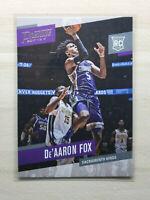 2017-18 Presige Basketball De'Aaron Fox RC, Rookie Card, Sacramento Kings