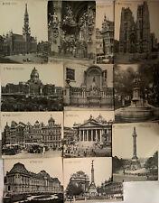 More details for antique brussels postcards unused x 12 lot