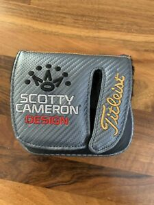 Titleist Scotty Cameron Design MilledPutter  Putters Cover Very Good Condition