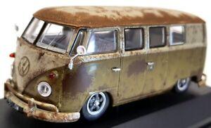 Corgi 1/43 Scale VA14501 - Volkswagen Type 2 Camper RAT Look Splitty