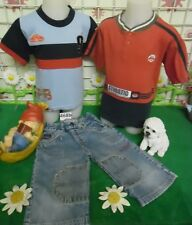 vêtements occasion garçon 4 ans,tee-shirt,bermuda jean COMPLICES