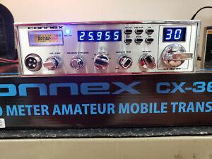 Connex CX36HPF 10 Meter Radio PRO TUNED & ALIGNED, SCHOTTKY RECEIVE UPGRADE