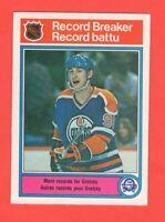 1982-83 O-Pee-Chee OPC Record Breaker #1 Wayne Gretzky Mint Pack Fresh