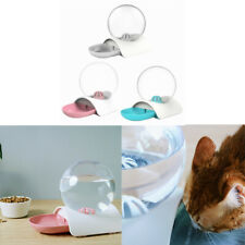 Automatic Pet Food Water Dispenser for Small Dog Cat Bubble Drinking Bowl Feeder
