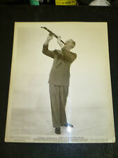 SAMMY KAYE on clarinet, orig b/w from SONG OF THE OPEN ROAD - 1944
