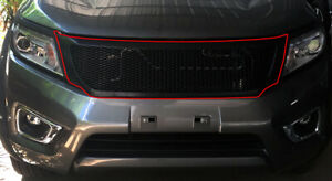 FRONT GRILL V.1 FOR NISSAN FRONTIER NAVARA NP300 2014-