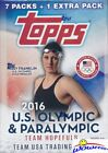 2016 Topps US Olympics Factory Sealed Blaster Box with TEAM USA Superstars !!