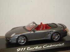 Porsche 911 997 Turbo Cabriolet - Minichamps 1:43 in Box *37497