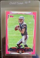2014 Topps Jimmy Garoppolo Pink Parallel Rookie Card 396/499