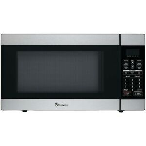 MAGIC CHEF(R) MCD1811ST 1.8 Cubic-ft, 1,100-Watt Stainless Steel Microwave with