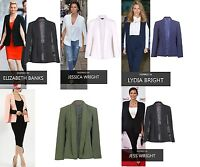 Ladies Celebrity Inspired Smart Fashionable Cape Blazer with Collar UK Size 8-16