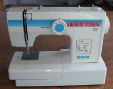 White Heavy Duty Sewing Machine 1666 w/ Controller