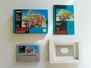SUPER MARIO KART sur Super Nintendo SNES Version FAH Complet #RETROGAMING #675