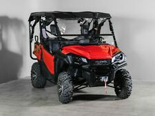 "Honda Pioneer 1000 Full Tilting UTV Windshield 1/4"" - Scratch Resistant"