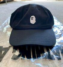 8ee52ce5dfc1c BAPE-  A Bathing Ape  head logo dad hat- black