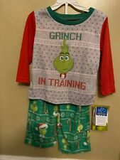 The Grinch Christmas Toddler pajamas