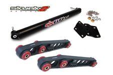SKUNK2 Lower Control Arm+Bar Phi Fifty Black 88-95 Honda Civic/93-97 Del Sol