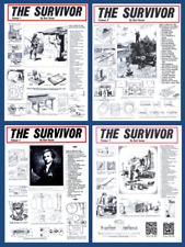 Kurt Saxon Survivor U.S. Militia Poor Man's Armorer Granddad's Chemistry E Book