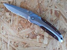 Herbertz Taschenmesser Einhandmesser Messer Klappmesser Pakkaholz 256410