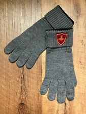 Vivienne Westwood 100% wool knitted gloves for men.