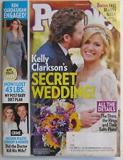 KELLY CLARKSON SECRET WEDDING 2013 People Magazine KIM KARDASHIAN