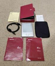 Sony Reader Pocket Edition Silver PRS-300 eBook Reader Original Box