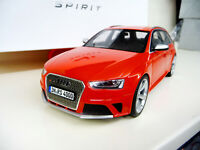 1:18 GT Spirit Audi RS4 Avant GT016A Lim. Ed 300 pieces NEW SHIPPING FREE