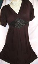 Partykleid glitzer elastisch Kleid  schwarz Green House Gr.S/M 36/38 iNr.a001