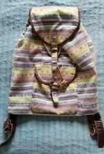 Forever 21 Indie BoHo drawstring tribal Hippie backpack rucksack festival bag