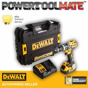 DeWalt DCD796P1 XR Brushless Combi Drill 18v 1 x 5.0Ah Li-Ion
