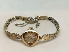 10ct Gold Bulova M3 N89779  23J U.S.A Watch Working Strap KYEIS/ER 1/20 10ct TGE
