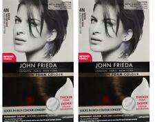 2 x JOHN FREIDA Precision Foam Colour 4N Dark Natural Brown 100% Brand New