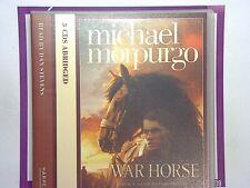 Michael Morpurgo Dan StevensWar Horse (Audio 3CD) mint