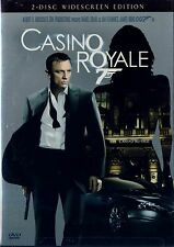 USED 2DVD SET  // CASINO ROYALE // JAMES BOND // Daniel Craig,  Eva Green,