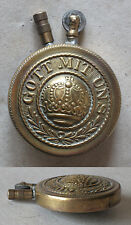 WWI ANTIQUE MILITARY GERMAN ARMY OFFICER'S PETROL CIGARETTE LIGHTER / RARITY