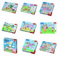 Trefl Peppa Pig Jigsaw Puzzle Games 17-100 Pcs Cartoon Character Educational Fun