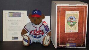 1993 ATLANTA BRAVES DIAMOND TEDDY BEAR COOPERSTOWN BEARS LTD EDITION 118/2500