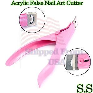 New Edge Nail Art Manicure Acrylic Gel False Clipper Cutter Nail Scissors B-778