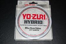 Yo-Zuri Hybrid Fishing Line 25 LB Test 250 yard - Low Vis Clear R715-CL